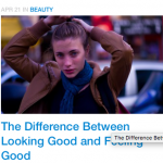 The Difference Between Looking Good and Feeling Good