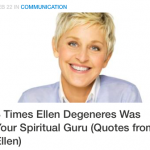 8 Times Ellen Degeneres Was Your Spiritual Guru (Quotes from Ellen)